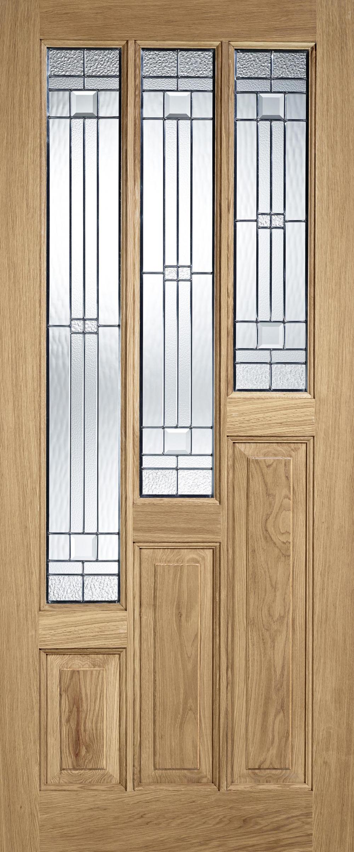 Coventry Elegant Oak Exterior Door Image