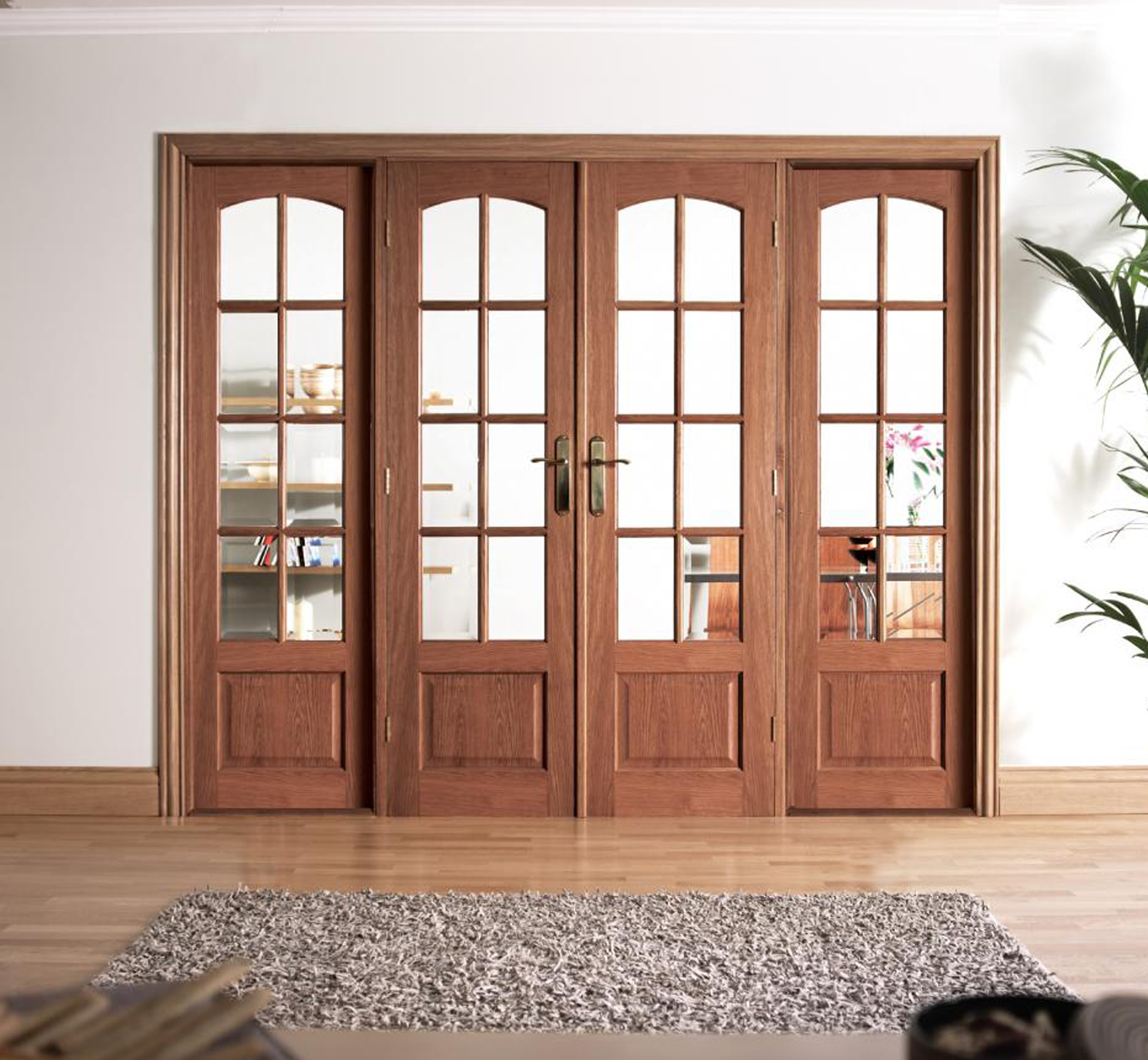 French doors interior modern makeover and decorations for French door decorating ideas