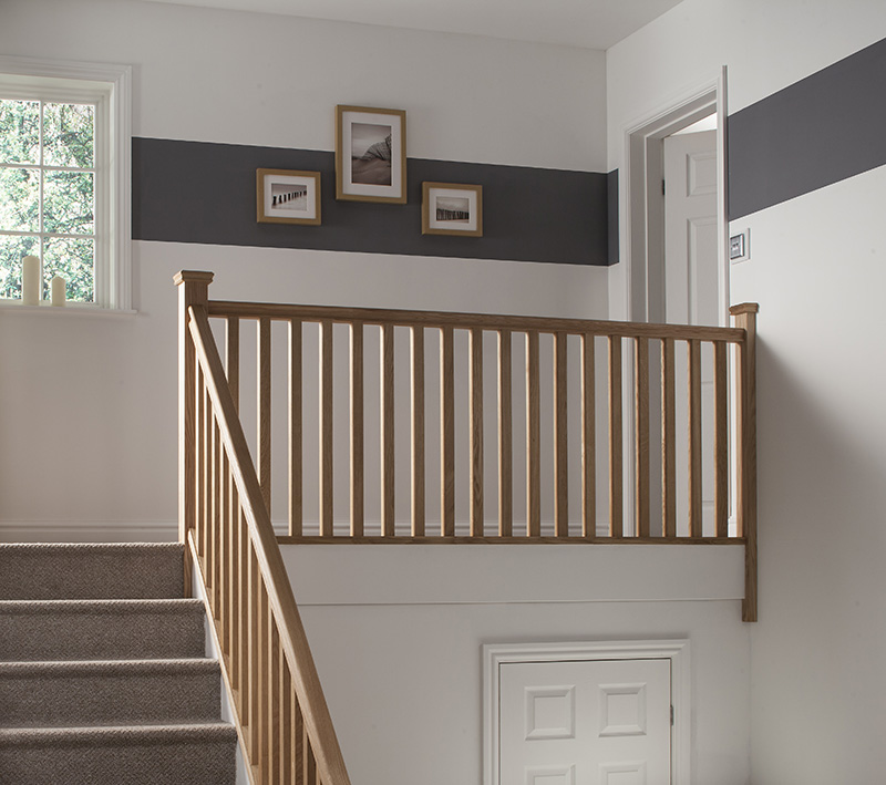 Plain Square Spigot Newel Post Blueprint Joinery