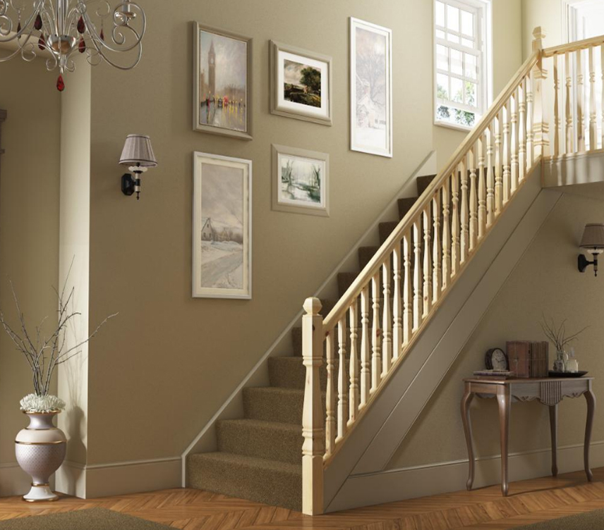 ... 90mm Provincial Square Stair Newel Post Image
