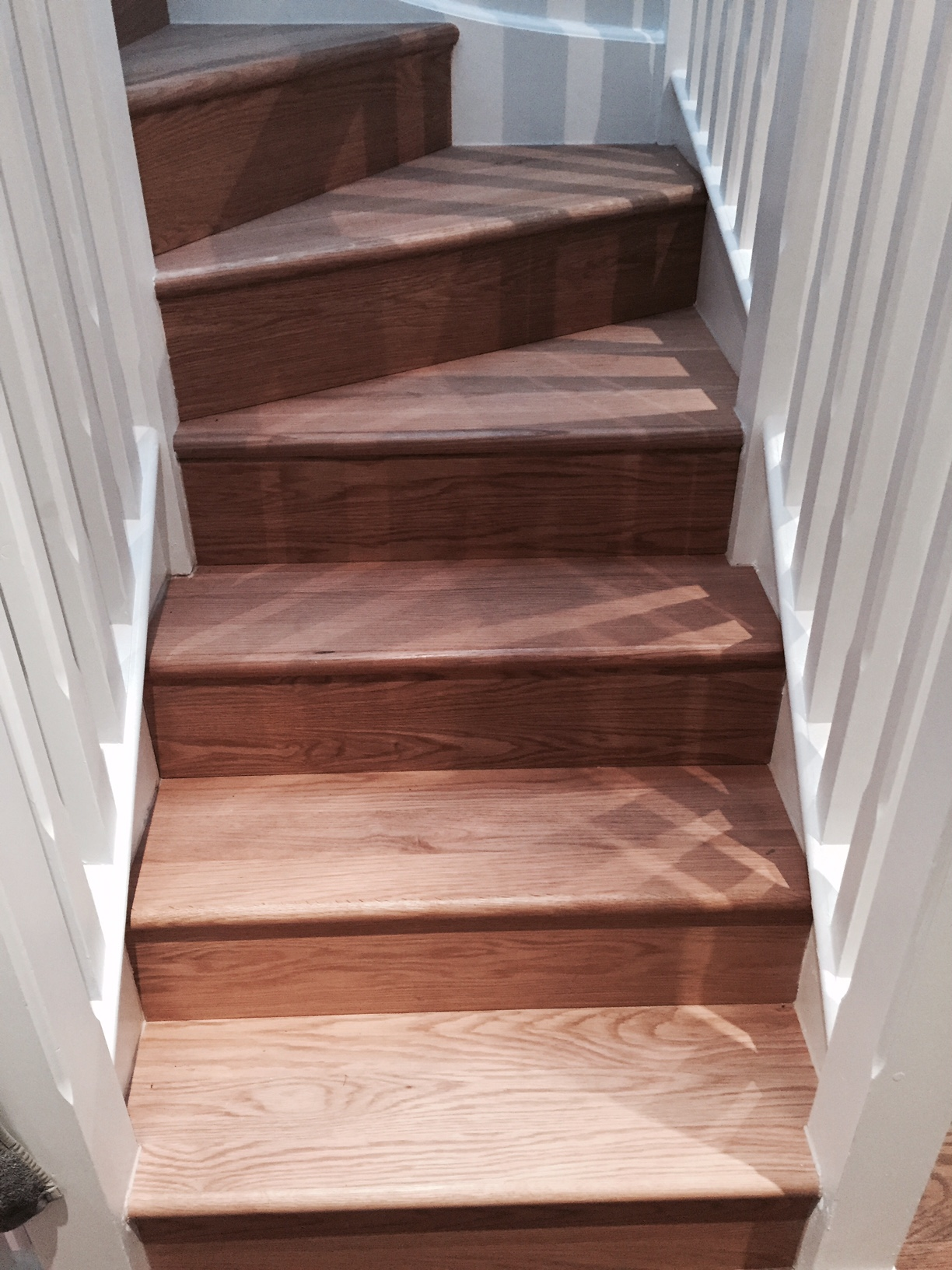 Oak basics stair cladding stair cladding tread riser basics oak stair cladding winder sets image malvernweather Gallery