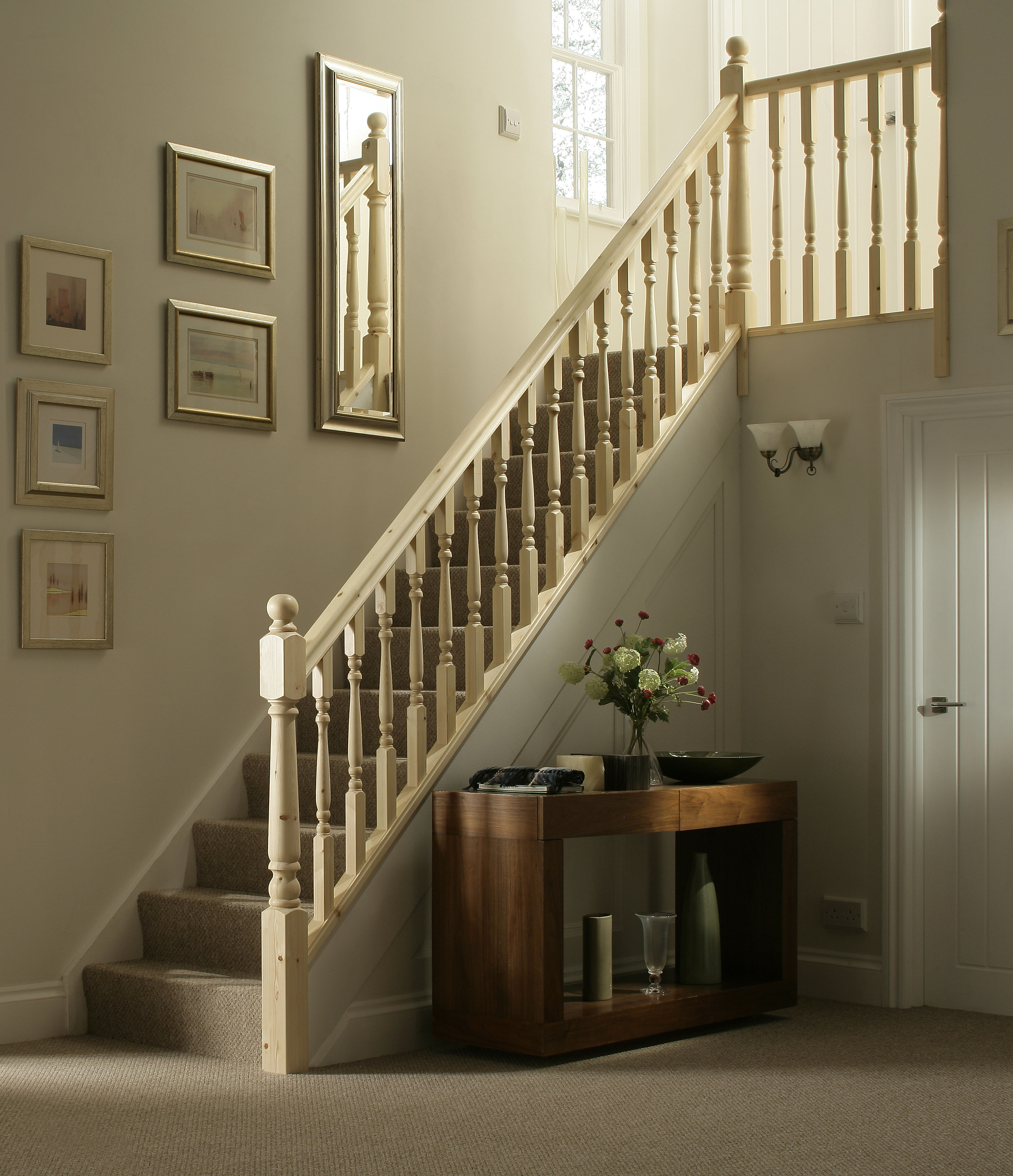 ... 41mm Colonial Edwardian Stair Spindle Select Length And Timber Image ...