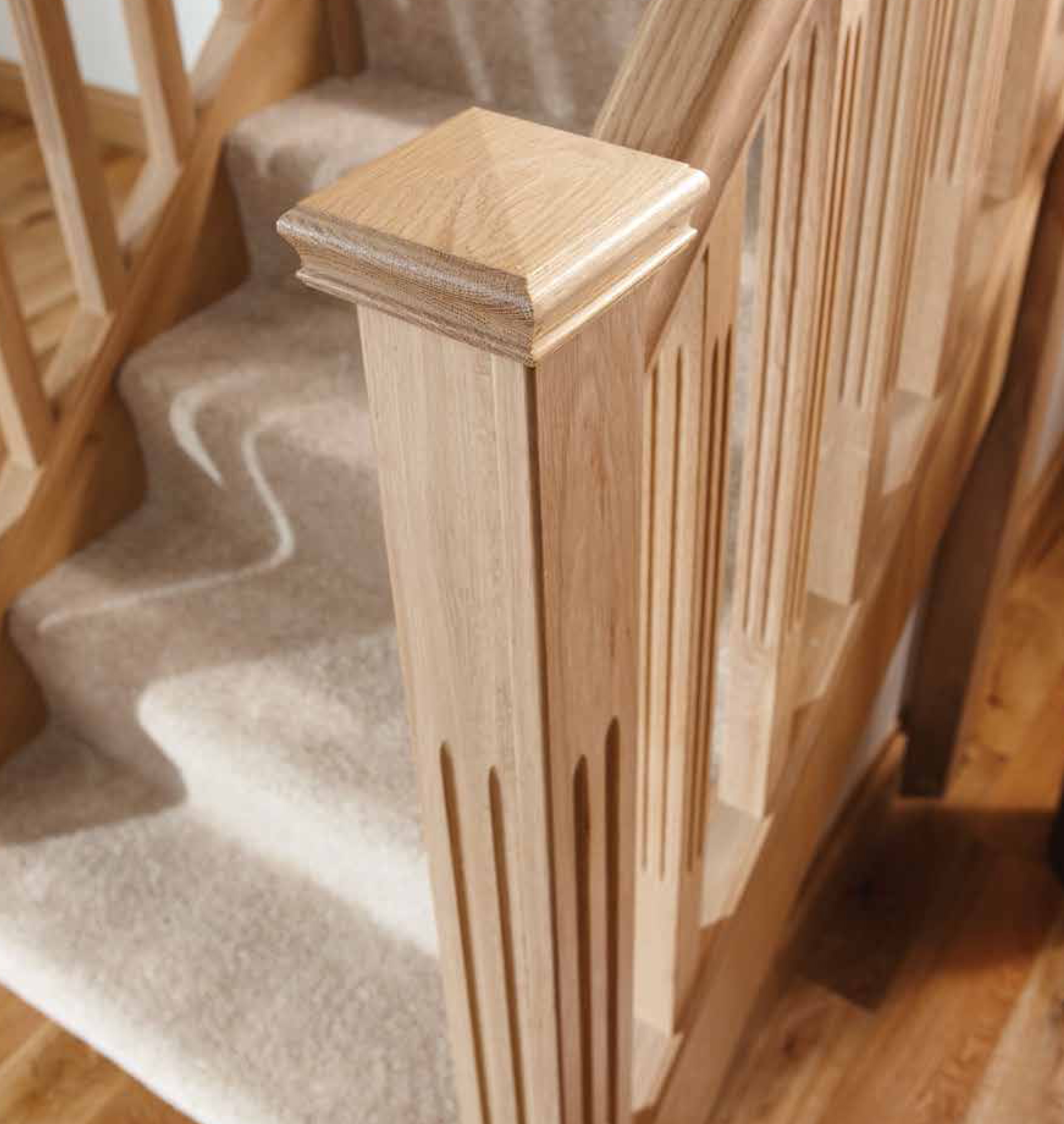 Interior newel post caps interior ideas for Interior post designs