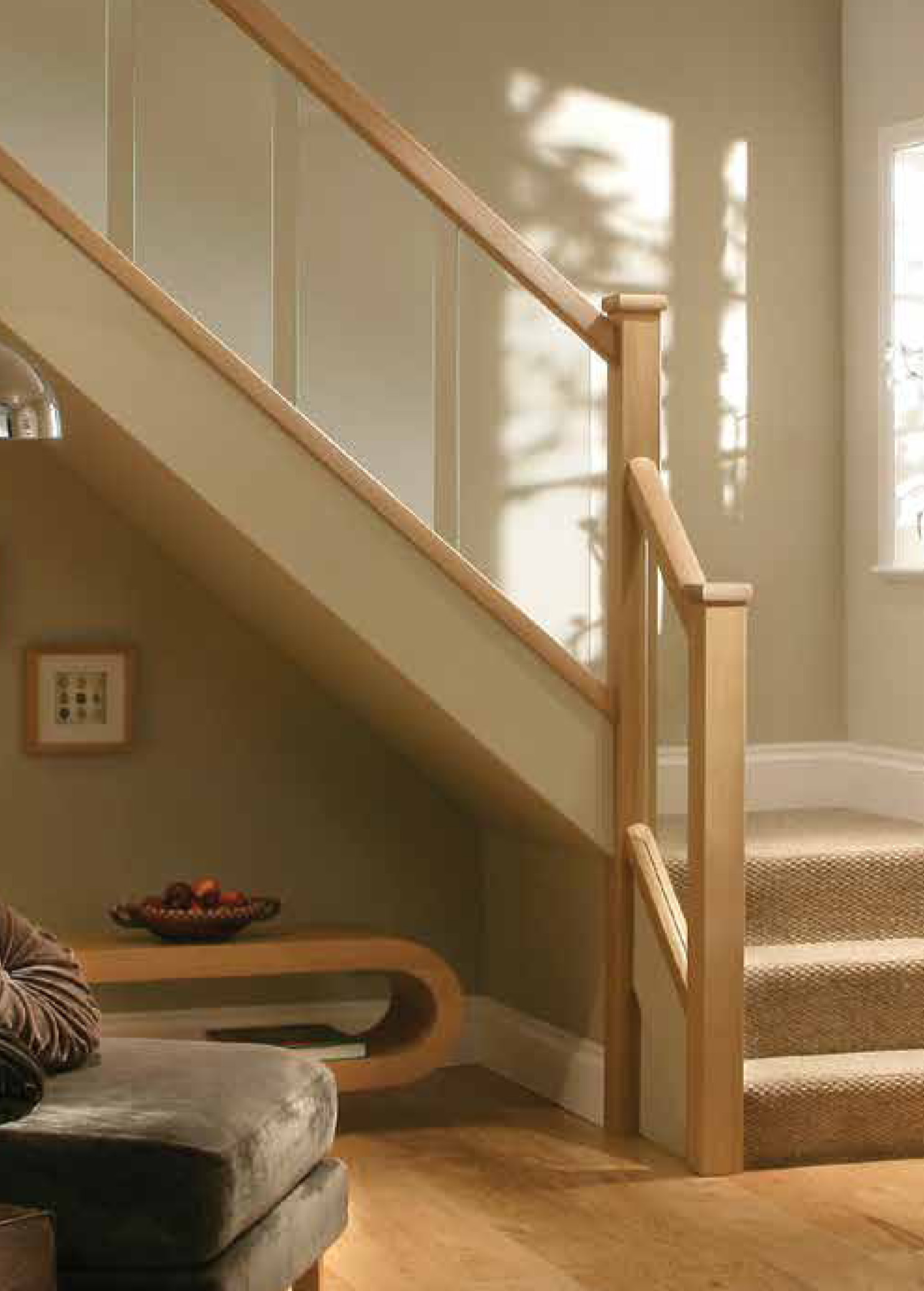 ... Reflections Glass Stair And Landing Panels 8mm Image ...