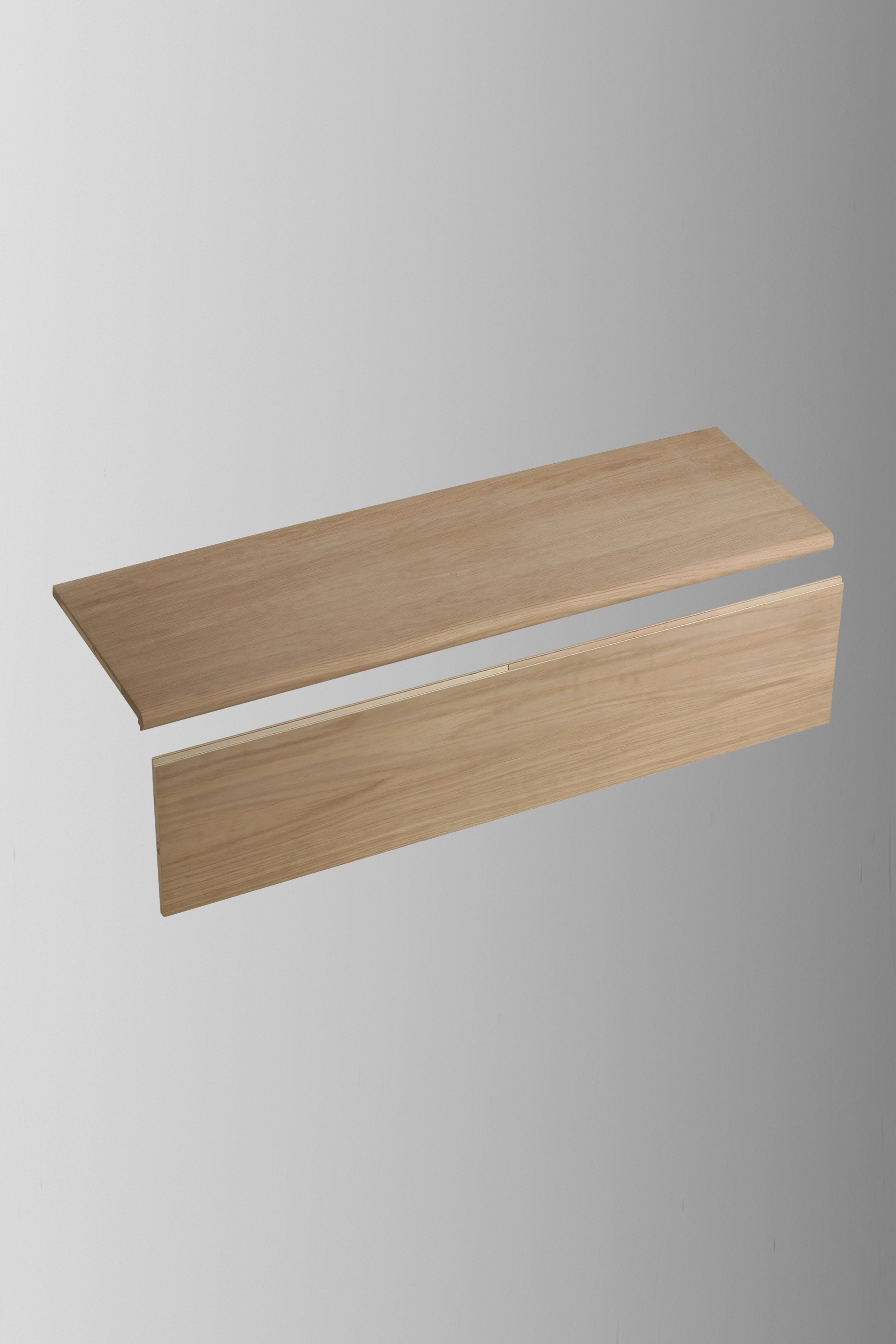 1500mm Stair Klad Oak Tread and Riser Set