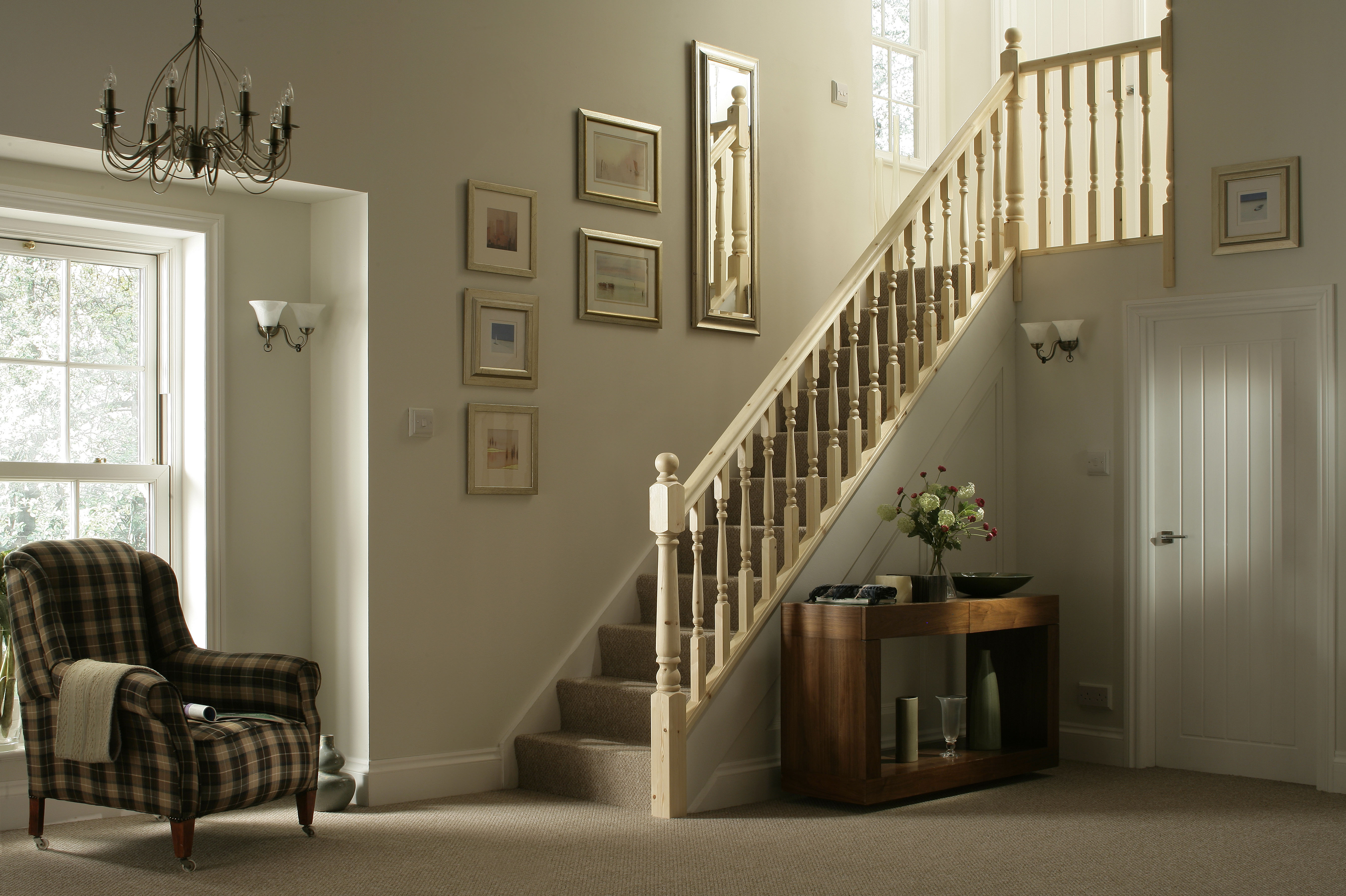 Timber stair parts spindles handrails blueprint joinery malvernweather Gallery