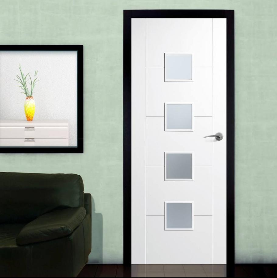 100 solid white interior doors